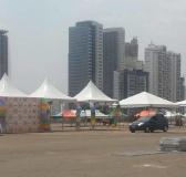 UNIMED loca tendas da Reisforts